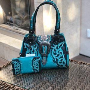 Montana west conceal handbag&wallet NWT
